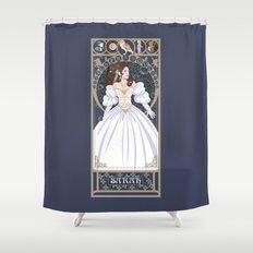 Sarah Nouveau - Labyrinth Shower Curtain