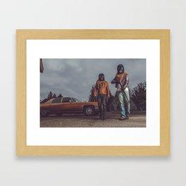 The Heist Part IV Framed Art Print