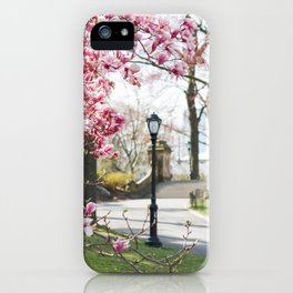 Spring in Central Park iPhone Case