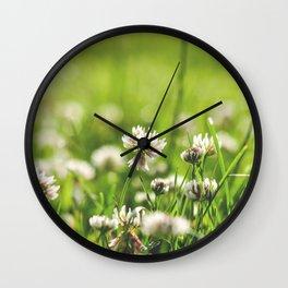 Lucky Field Wall Clock