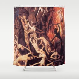 Last Judgement Shower Curtain