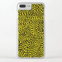 Tiger Tail Clear iPhone Case