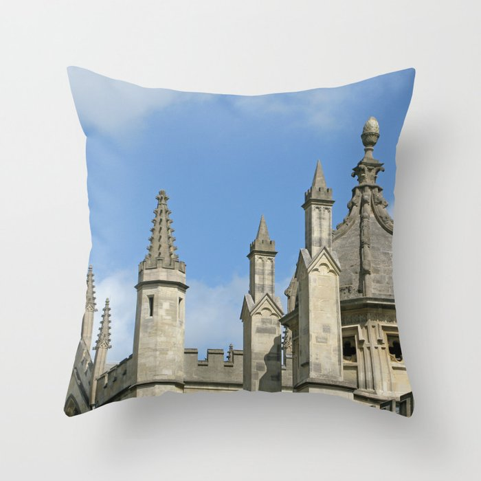 Spires of All Souls Throw Pillow