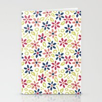 matisse Stationery Cards featuring Matisse Floral by Rosie Simons