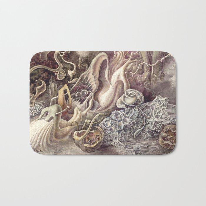 SURREAL COMPOSITION (AQUARELLE)  Bath Mat