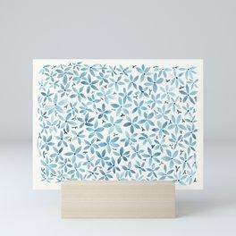 Blue Bouquet Mini Art Print