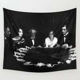 Spiritualist Seance Wall Tapestry