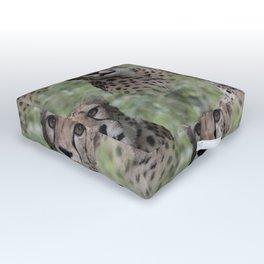 Allover Cheetah Outdoor Floor Cushion