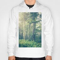 forest Hoodies featuring Inner Peace by Olivia Joy StClaire