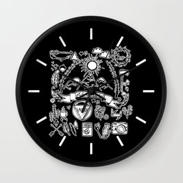 Rustic Collection Wall Clock