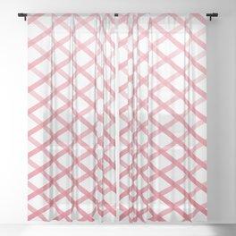 Ox Cross Stitch Sheer Curtain