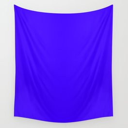 Ultramarine - solid color Wall Tapestry