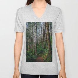 Trees: IV // Oregeon Unisex V-Neck