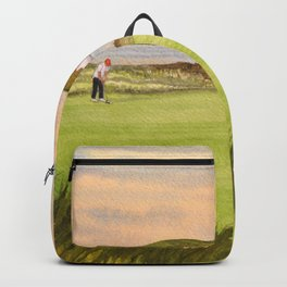 Royal Portrush Golf Course 5th Hole Backpack