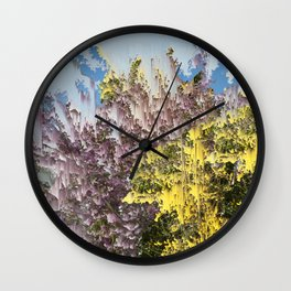 Interference #1 Wall Clock