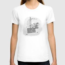 'Raft' (Grey) T-shirt
