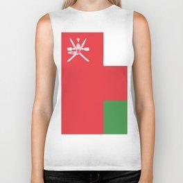 Oman flag emblem Biker Tank