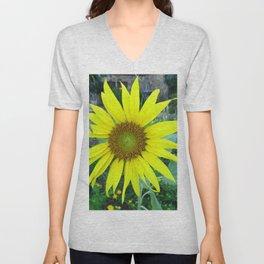 Stunning Sunflower Unisex V-Neck