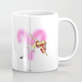 Aries Zodiac Pole Dancer Coffee Mug