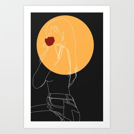My Emotions Can't Feel Me Art Print