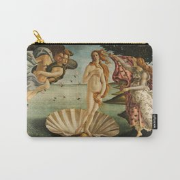 Birth Of Venus Sandro Botticelli Nascita di Venere Carry-All Pouch