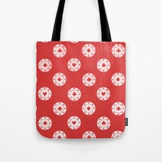 Poker Dots Tote Bag