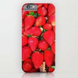 Strawberries Galore iPhone Case