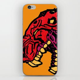crimson iPhone Skin
