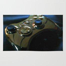 Golden Gamer Rug