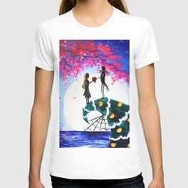 jack and sally T-shirt