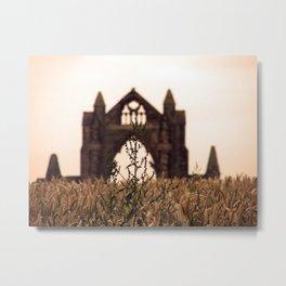 Old English Countryside Metal Print