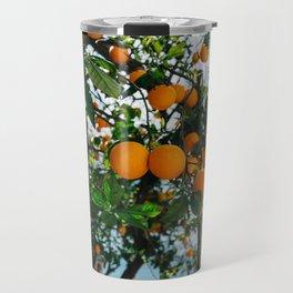 Amalfi Coast Oranges III Travel Mug