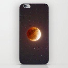 Lunar Eclipse Blood Moon iPhone Skin