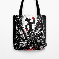 popeye Tote Bags featuring Eat Your Spinach! by Don Lim