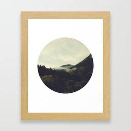 September Mist Framed Art Print