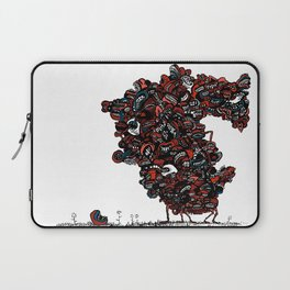 The chattering class  -alt Laptop Sleeve