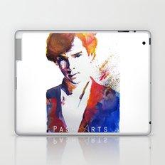 Sherlock - Splash of Colour Laptop & iPad Skin