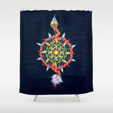 Muladhara Chakra Shower Curtain