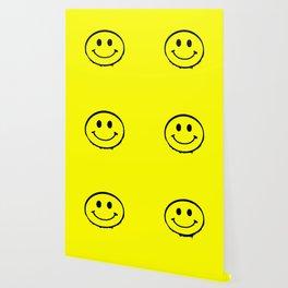 smiley face rave music logo Wallpaper