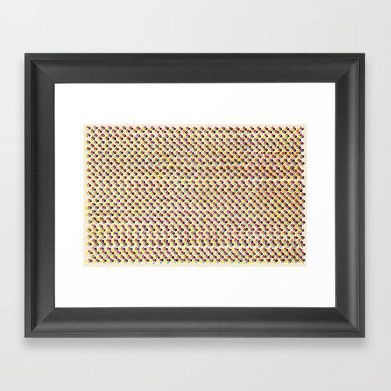 The New Color: CMYK Framed Art Print
