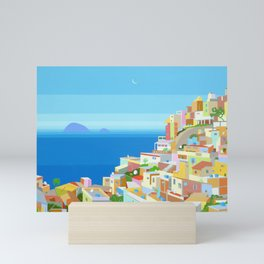 VIDIGAL FAVELA IN RIO Mini Art Print