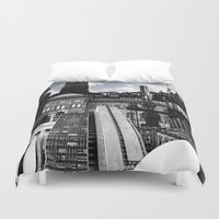 stockholm Duvet Covers featuring Urban Stockholm by Nicklas Gustafsson