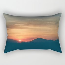 At the End of the Day Rectangular Pillow