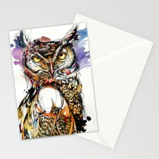 Owl Sounds Stationery Cards