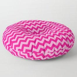 Pink Morroccan Moods Chevrons Floor Pillow