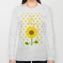 Inspired Sunshine Quote Long Sleeve T-shirt