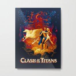 Titans Metal Print