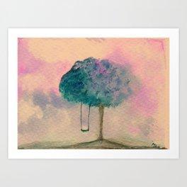 Winter Melancholy Art Print