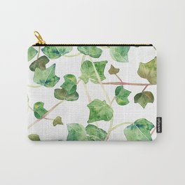 English Ivy Pattern Carry-All Pouch