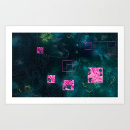 Journey of the Rebel, the Outcast, and the Ubermensch Art Print
